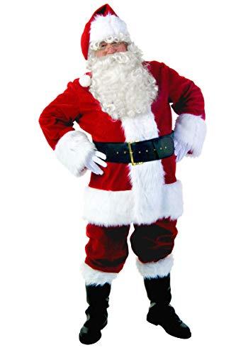 Plus Size Premiere Santa Suit Fancy Dress Costume 6X