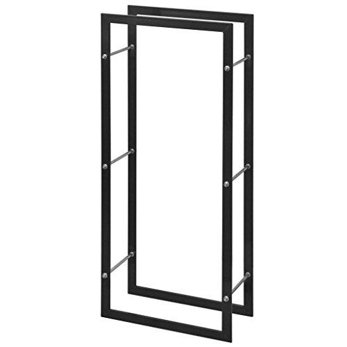 FZYHFA Kaminholzständer rechteckig 100 cm schlichtes und schönes, robustes Design mit modernem...