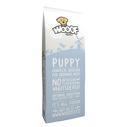 Jetzt neu: Wooof Puppy 15kg kaltgepresstes Hundefutter mit Rind, natürliche Zutaten, hoher Fleischanteil, leicht verdaulich, ohne Weizengluten, Trockenfutter für Welpen und junge Hunde