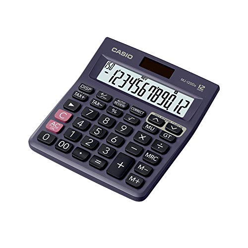 Casio MJ-120Da 150 Steps Check and Correct Desktop Calculator with Tax & GT Keys & On Display Indication of Active Constant (K)