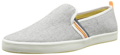 Base London Fry 2, Baskets mode homme Gris (705 Textile Grey)