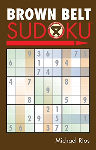 Brown Belt Sudoku (R) (Martial Arts Sudoku)