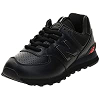 حذاء رياضي نيو بالانس للرجال 574, (أسود (أسود )), 43 EU