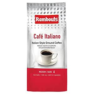 Rombouts Coffee Café Italiano Ground Coffee, 227g