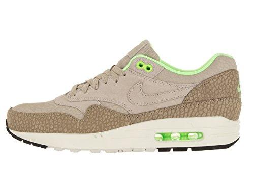 Nike Air Max 1 Prm, Chaussures de Running Entrainement Homme gris - Gris (String / String-Dsrt Cm-Ghst Grn)