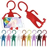 PAN PACIFIC® Cell Phone Holder Hanger Hanging Key-chain Stand for Car (Colour May Vary)