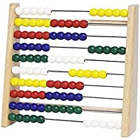 Goki Counting Frame with Colorful Beads