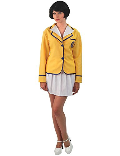 Womens Hi De Hi Valley Girl Costume. Sizes 12 to 18