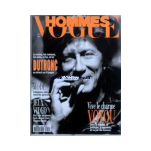 VOGUE HOMMES [No 159] du 01/05/1993 - DUTRONC - MODE - JEUX VIDEO - VIVE LE CHARME VOYOU.