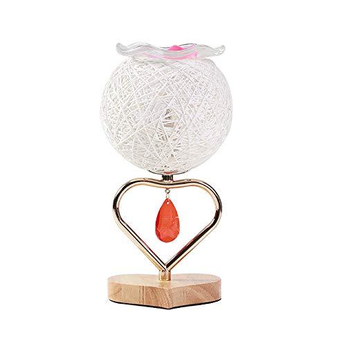 Einfache Duftlampe, handgemachtes Rattan-Atmosphäre-dekoratives Nachtlicht, stufenlose verdunkelnde Bett-kreative Öl-Lampe, verwendbar für Hotels, Yoga, Schlafzimmer