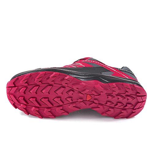Salomon, Scarpe da camminata donna rosa/grigio