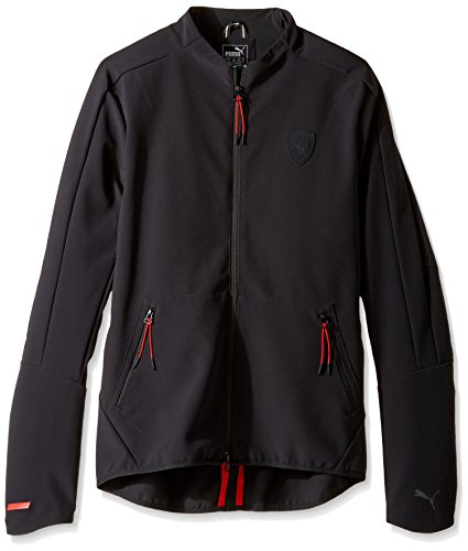 Puma Ferrari Men's T7 Track Jacket (572800 01) (Moonless Night) (Medium)