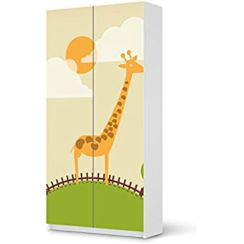 Klebefolie Sticker Aufkleber Für IKEA Pax Schrank 201 Cm Höhe   2 Türen |  Möbel überkleben Verschönerung Möbeldeko | Modernes Wohnen Wohnzimmer  Dekoration ...