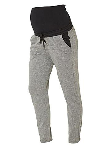 MAMALICIOUS - Jeans spécial grossesse - Femme gris gris Large
