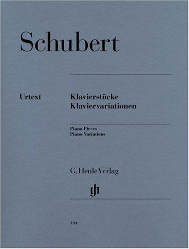 Pièces et Variations - Piano