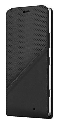 Mozo 950FBGWN Qi drahtlos Charging Notebook Flip Schutzhülle für Microsoft Lumia 950 mit NFC golf schwarz