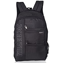 Killer Calizer Men'S Laptop Backpack For 15.6 Inch Laptop - Black