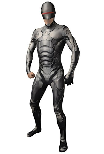 Robocop Morphsuit Second Skin Suit, medium or large