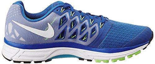 Nike Zoom Vomero 9, Chaussures de Running Entrainement Homme Bleu (Bleu/Noir/Lime/Blanc)