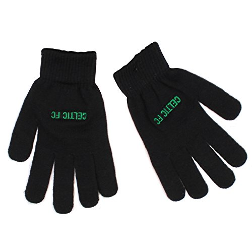 New Official Football Team Knitted Gloves (Celtic FC) by Official Football Merchandise (Boy Motto-partys)