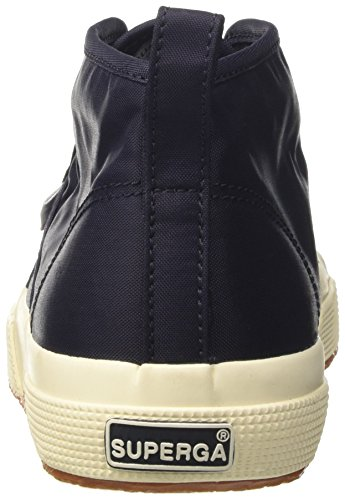 Superga Herren 2754-Nylm New High-Top Blu (Navyf Off White)