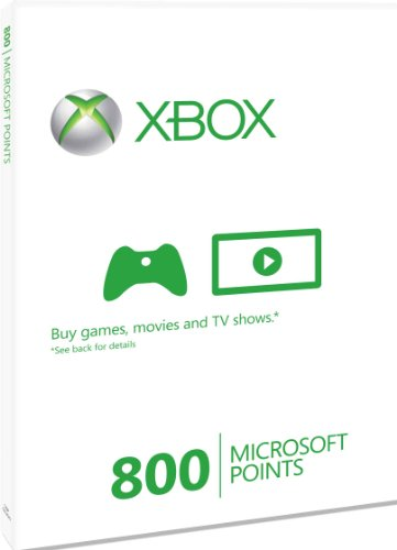 [UK-Import]XBOX Live 800 Microsoft Points Card XBOX 360