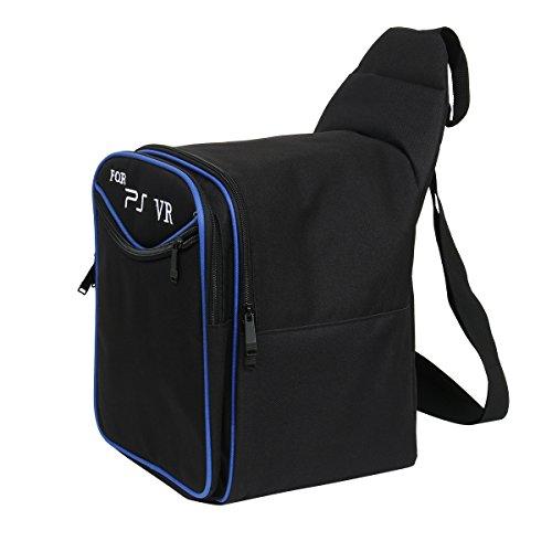 Cusfull Universelle Tasche für PlayStation PSVR VR Headset (PS4) Wasserdicht Harte Hülle VR Accessories Zubehör Reisetasche Rucksack - Schwarz