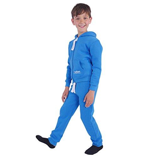 93Y3 LIL'Finch Kinder Trainingsanzug Jungen Mädchen Kids Blau Gr. ()