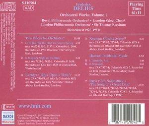 Oeuvres pour orchestre Vol.1