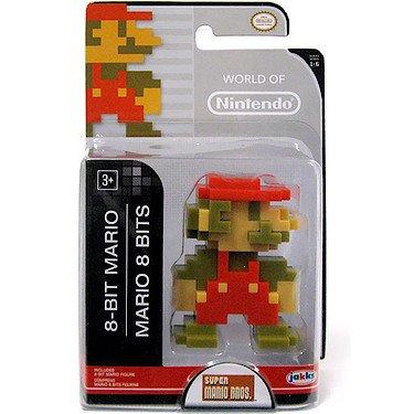 Preisvergleich Produktbild World of Nintendo - Super Mario Brosothers - 6cm Mini-Figur - 8-Bit Mario Figur [UK Import]