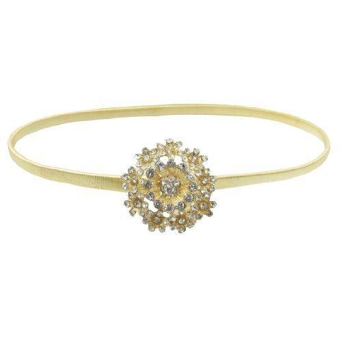 sourcingmap-cinturon-para-mujer-dorado-dorado