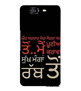 ifasho Designer Back Case Cover for Micromax Canvas Knight A350 :: Micromax A350 Canvas Knight (Paternal Progeny)