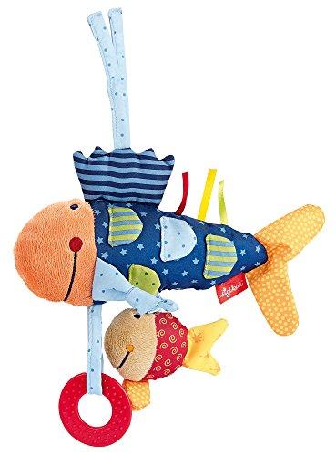 sigikid, Mädchen und Jungen, Aktiv-Fisch, Play-Q, Mehrfarbig, 40104 Fisch Mobile