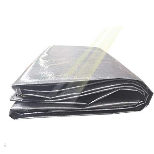 Preisvergleich Produktbild GLP Dicker wasserdichter Kunststoff wasserdichtes Tuch Outdoor Truck Sonnenschutz Tuch Isolierung Solarplane leichte Plane Markise Plane (180g / Quadratmeter,  Dicke: 0, 4 mm) (Size : 5mx6m)