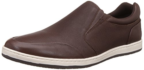 Hush Puppies Men's Titan Slip On Leather Loafers and Moccasins
