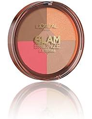 L'Oréal Make Up Designer Paris Glam Bronze la Terra Healthy Glow Poudre Solaire Médium