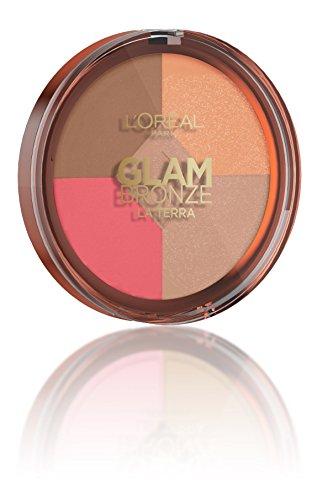 L'Oréal Make Up Designer Paris Glam Bronze Healthy Glow - Palette 4 in 1
