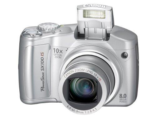 Canon Powershot SX100 IS (8 Megapixel, 10-fach opt. Zoom, 2,5