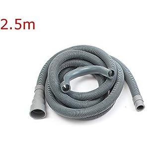 TuToy 1.5M/2.5M/3M Washing Machine Dishwasher Drain Waste Hose Extension Pipe - 2.5M