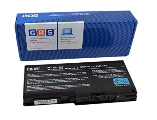 GRS Batterie pour Toshiba Qosmio X500, X505, PA3729U-1BAS, PA3729U-1BRS, PA3730U-1BRS, PA3730, 8800mAh,10,8V