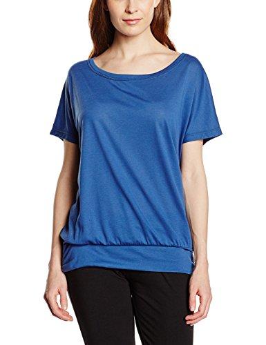 Intimuse Damen Sport T-Shirt, Blau (Navy), 34 (Herstellergröße: XS)