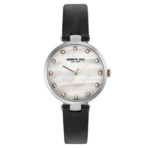 Kenneth Cole New York Mujer Reloj De Pulsera Analógico Cuarzo Piel kc50257001