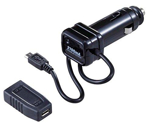 Preisvergleich Produktbild Es ist ein Boost DC Ladekabel Aufladen mit dem iqos Ladegerät 2,1A für Fahrzeuge. Mit einem Wandlung Stecker 2-M lang eine fizz-1040der Rand