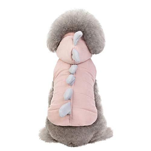 Hundekleidung Hundebekleidung Hundemantel Hoodies Kleidung, Hawkimin Pet Puppy Katze Niedlicher Baumwoll Warm Coat Pullover für Teddy Mops Chihuahua, Shih Tzu Yorkshire Terrier Teddybär (Baumwoll-kleidung Hand Pullover Stricken)