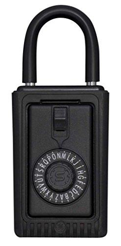 Kidde AccessPoint 00524Schlüsselsafe Original 3-Tasten-tragbar, Spin Dial, Schwarz, 000524