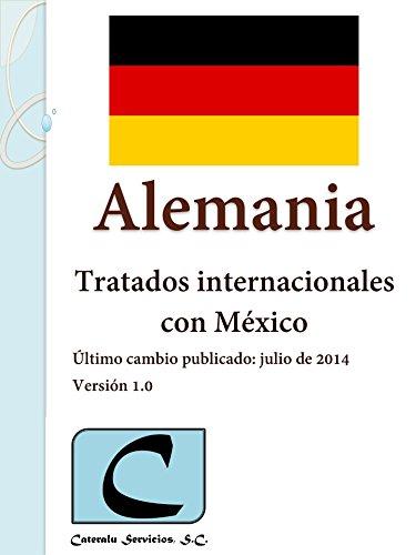 Alemania - Tratados Internacionales con México