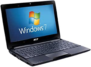 Acer Aspire One D257 10.1 inch Netbook (Intel Atom N455 Processor, 1GB RAM, 250GB HDD, 4 Hours Battery Life, Windows 7 Starter & Android) - Black