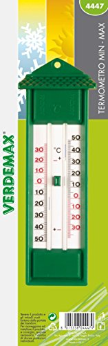 Verdemax 4447230x 60mm Min-Max-Thermometer
