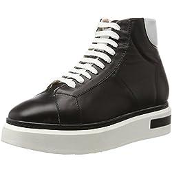 Oxitaly Damen Betty 101 Sneaker, Schwarz (Nero), 36 EU
