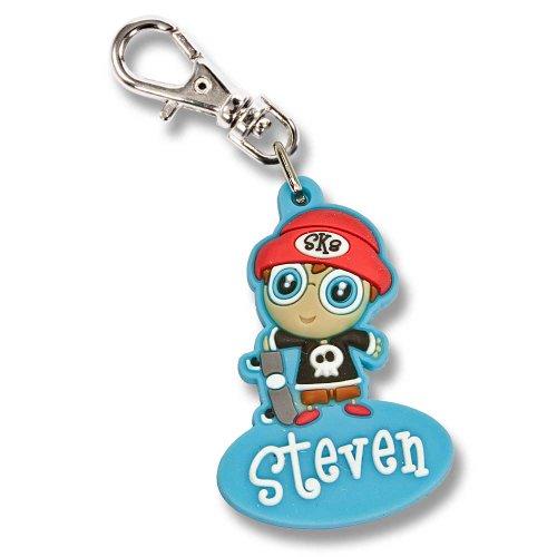Preisvergleich Produktbild Zipper Pals Reißverschlussanhänger für Kinder Anhänger Junge Steven